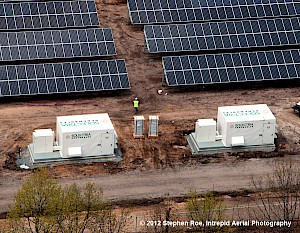 Solectria Renewables Powers the Largest Solar Farm in New England
