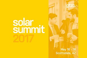 Exhibitor/Sponsor: Greentech Media's Solar Summit 2017