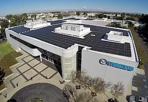 Solectria Renewables' Inverter Powers Mazda's R&D Center in Irvine, California