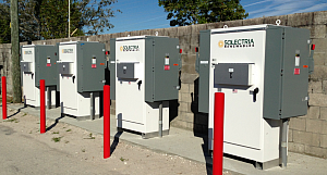 Solectria Renewables' Commercial Inverters Power 1.2MW Installation in Fort Myers, Florida at Fleamasters Market