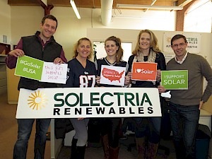 "National ""Shout Out for Solar Day"" Jan. 16, 2015"
