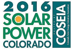 Exhibitor/Sponsor/Training: Solar Power Colorado 2016 Hosted By: COSEIA - Booth #330