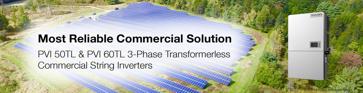 Yaskawa Solectria Solar - Leading Commercial PV Inverter Supplier