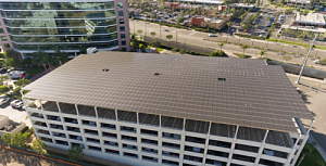 SunGreen Systems completes solar canopy for Irvine Morgan Stanley office